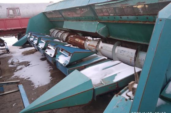 Жатка для збирання соняшника ПЗС 8 2009 року -  1