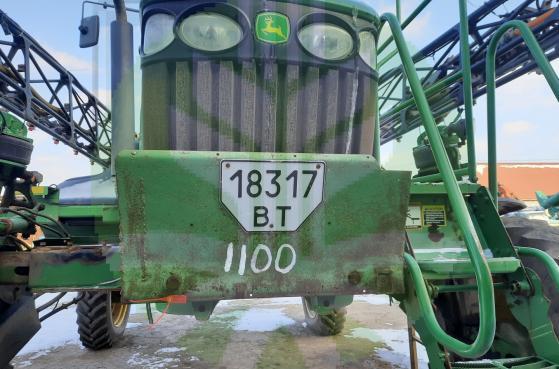 Оприскувач самохідний JOHN DEERE 4730 2012 р.в. -  3