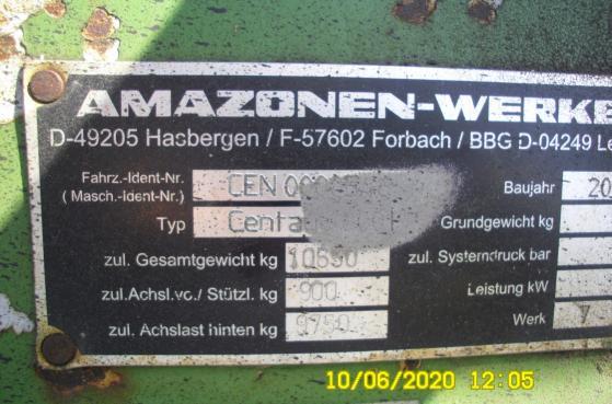 Культиватор Amazone Centaur 6001  - 2007 рік -  3