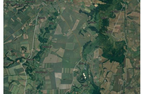 Земельна ділянка в полтавській обл. (с. Вирішальне) під будівництво елеватора -  2