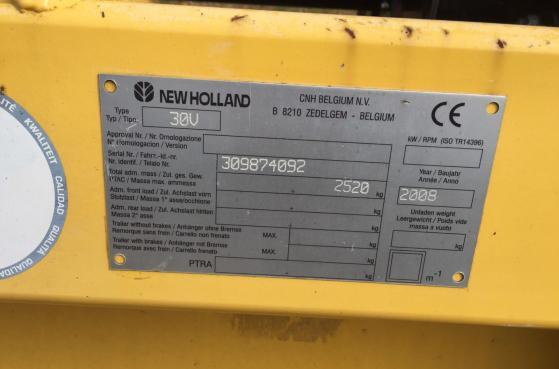 Жадка New Holland B 8290 2007 рік -  5