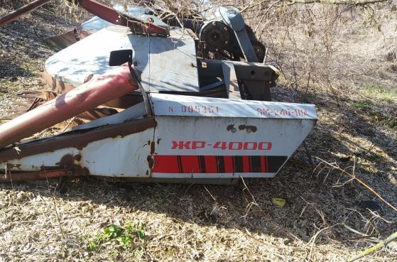 Жатка Кукурузна ЖР-4000 до комбайна ДОН 680 -  2
