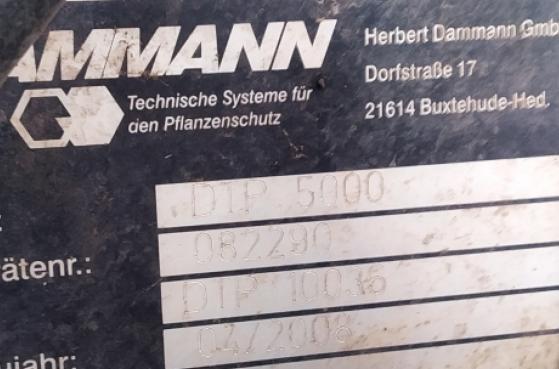 Самохідний оприскувач DAMMANN DT2600HD 2008 року -  4